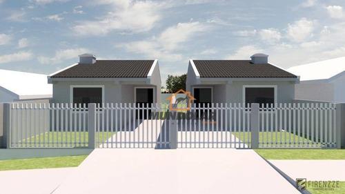 Casa Com 2 Dormitórios À Venda, 55 M² Por R$ 210.000,00 - Iguaçu - Araucária/pr - Ca1557