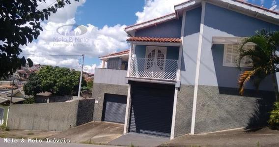 Casa Para Venda Em Bragança Paulista, Santa Terezinha, 3 Dormitórios, 1 Suíte, 4 Vagas - 0156_2-220968