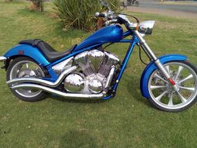 Honda Fury 1300cc.mod.2010 Cel.3481006028 Motos Arandas