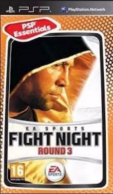 Jogo Fight Night Round 3 Psp Playstation Mídia Física Boxe