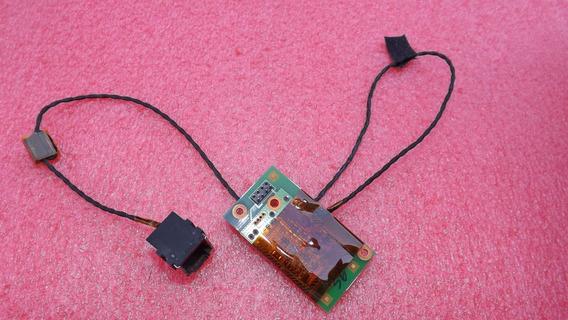 Placa Rede + Conector Lan Notebook Hp Dv2765br