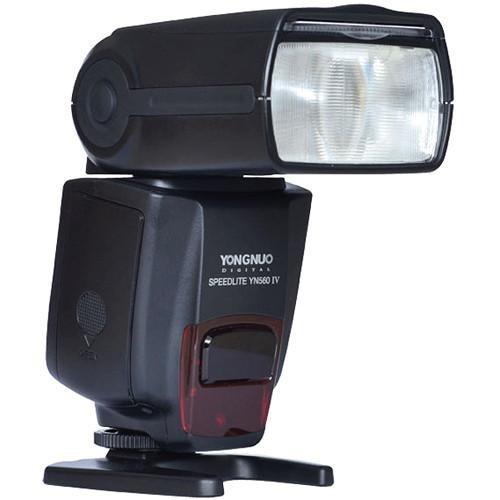 Flash Speedlite Yongnuo Yn560 Iv Para Câmeras Canon Ou Nikon