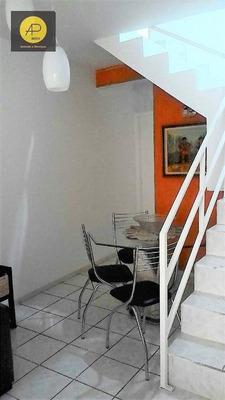 Sobrado Com 2 Dormitórios À Venda, 66 M² Por R$ 195.000 - Socorro - Mogi Das Cruzes/sp - So0100