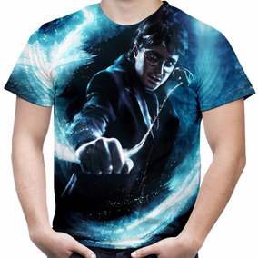 Camiseta Filme Harry Potter Camisa Masculina Total Print Md4