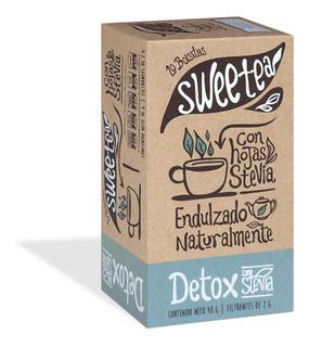 Té Detox Día Sweetea Infusión Con Hojas De Stevia