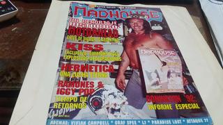Revista Madhouse Numero 25 Kiss Hermetica
