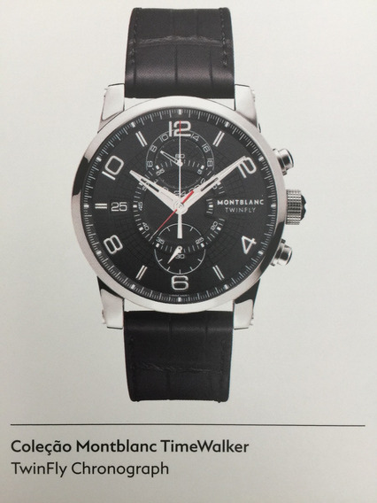 Relogio Montblanc Timewalker Twinfly Chronograph