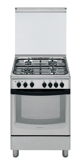 Cocina Ariston Cx650s | 60cm | Grill El | Enc | Tapa | Inox