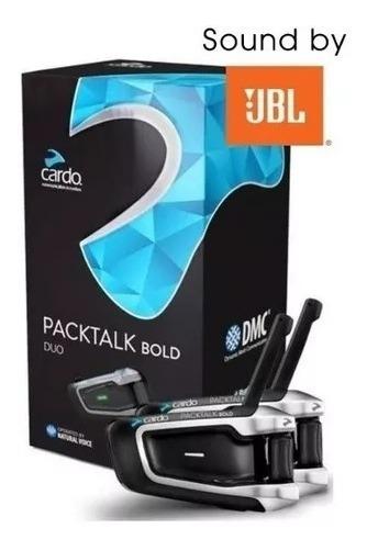 Intercomunicador Scala Rider Packtalk Bold Duo Jbl