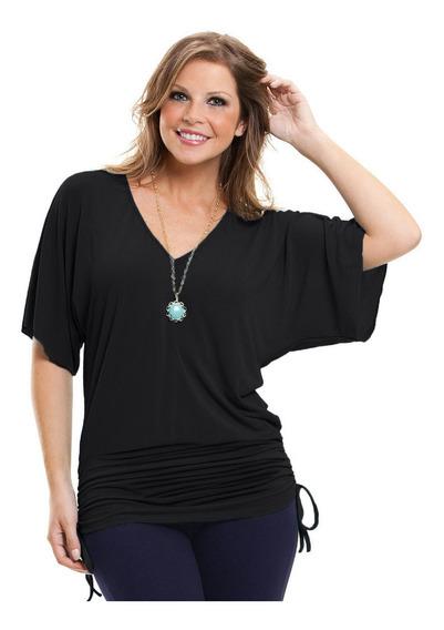 Moda Maior Blusas Grande Regata Gordinha Camisetas Plus Size