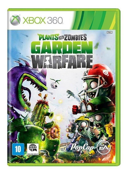 Plants Vs Zombies Garden Warfare Xbox 360 Mídia Física Novo