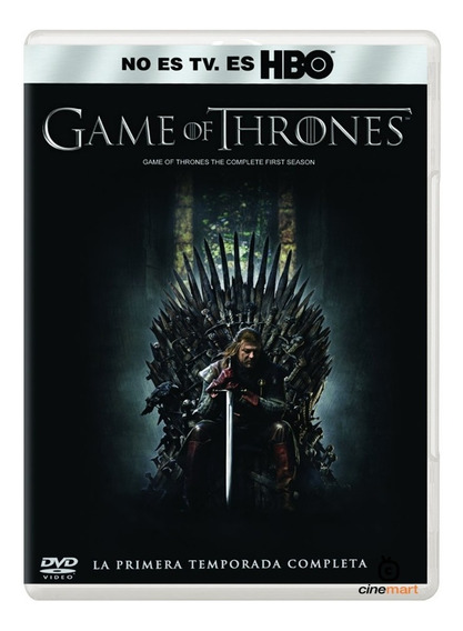 Juego De Tronos Game Of Thrones Primera Temporada 1 Dvd