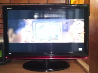 Tv Lcd 32 Tcl Erios 32m91hd Con Control Excelente Estado