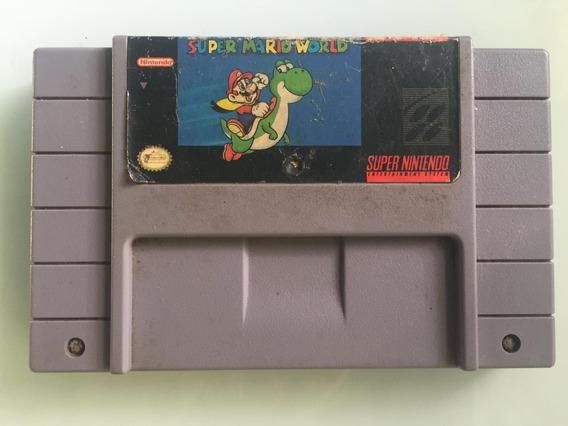 Jogo Super Mario World Super Nintendo - Usado