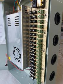 Fonte Organizada 18 Cameras Painel Rack 12v 30a 360 W