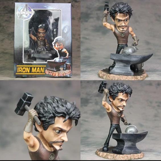 Tony Stark Mark 1 Forja +led Reator Ark
