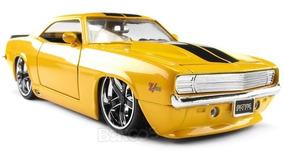 Chevy Camaro 1969 Amarelo 1:24 Jada