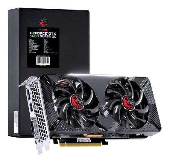 Placa De Video Nvidia Geforce Gtx 1660 Super Gddr6 6gb