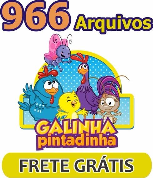 Galinha Pintadinha Arte Vetores Imagens Corel Convite Cdr