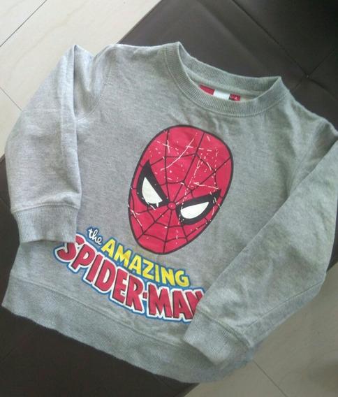 Suéter De Spiderman Talla 4 (epk)