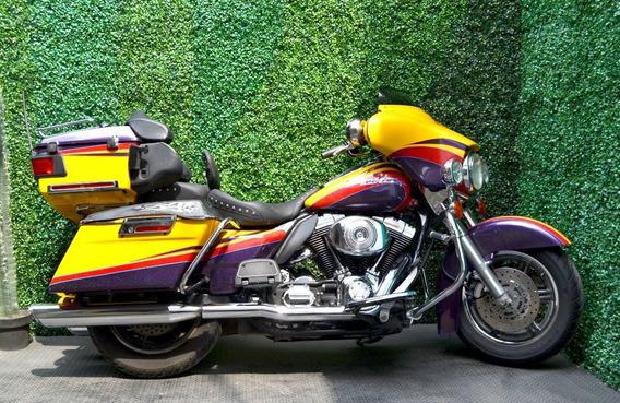 Epectacular Harley Electra Glide 1450 Con Extras Sin Fallas