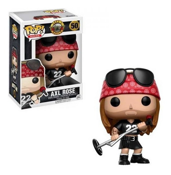 Figura Funko Pop Rocks - Guns N Roses Axl Rose 50