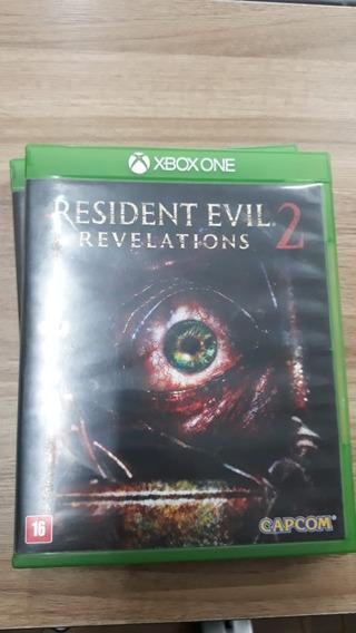 Resident Evil Revelations 2 Xbox One Fisica Semi Novo