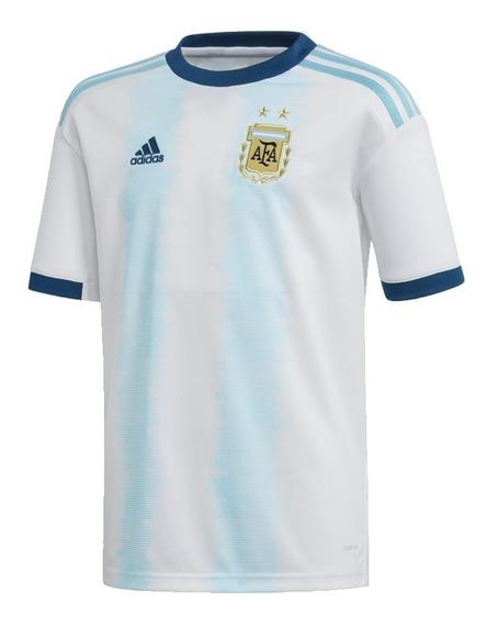 Camiseta Oficial Selección Argentina Local 2019 adidas Niños