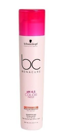 Schwarzkopf Color Freeze Shampoo Rojos Vibrantes X 250 Ml