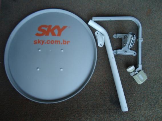 Antena Ku 60cm (sem Cabo) - Logo Sky