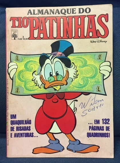 Almanaque Do Tio Patinhas Nº 3 - Editora Abril