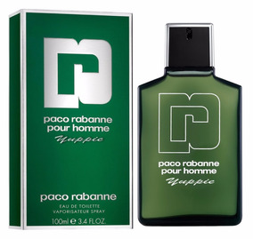 Perfume Pour Homme Verde Paco Rabanne* Masculino Edt 100 Ml