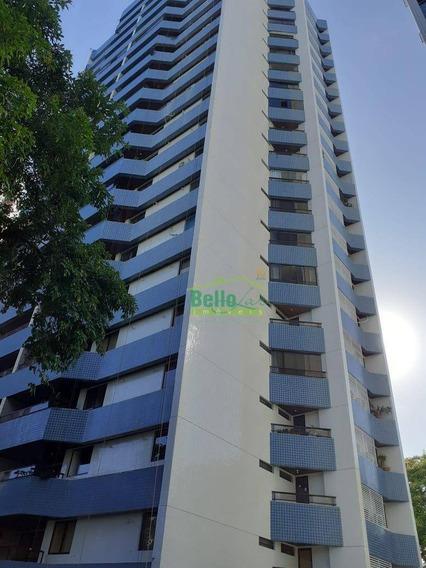 Apartamento Alto Padrão Com 4 Dormitórios À Venda, 225 M² Por R$ 1.150.000 - Casa Forte - Recife/pe - Ap9950