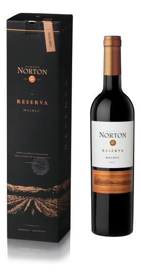 Vino Tinto Norton Estuche Reserva Malbec