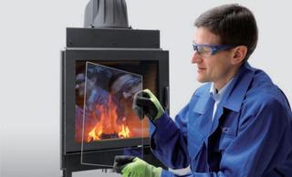 Vidrio Cristal Vitroceramico Alta Temperatura Salamandras