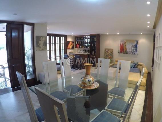 Excelente Casa Duplex Em Condomínio Fechado, Com Área Construída De 1.200 M² Com 4 Quartos Lazer E Quadra De Squash. - Ca0014