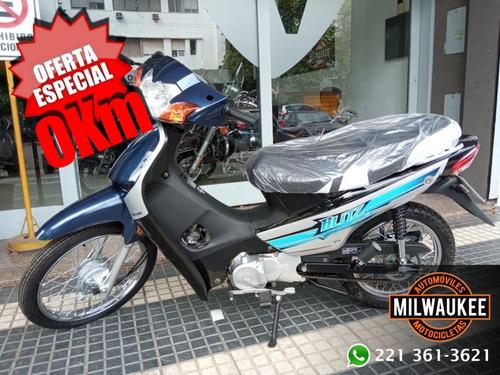 Motomel Blitz 110 / 110cc / 0 Km / Milwaukee La Plata