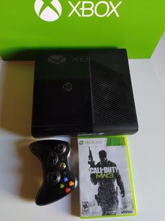 Xbox 360 Slim Original Sin Disco Duro + Joystick + Juego
