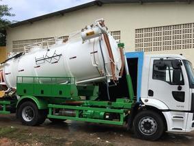 Caminhão Limpa Fossa Hidrojato E Vácuo - Ford Cargo 1719