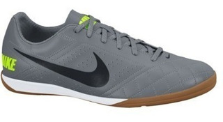 Tenis Nike Masculino Futsal Beco 2 Cinza Original Nike