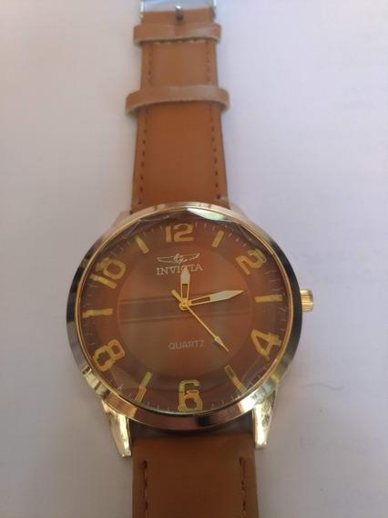 Relógio Masculino Casual - Pulseira De Couro