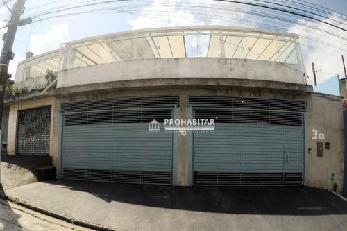 Imagem 1 de 16 de Sobrado Com 4 Dormitórios À Venda, 200 M² Por R$ 500.000,00 - Jardim Reimberg - São Paulo/sp - So3573