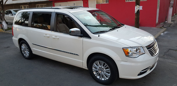 Town Country Piel Dvd Q/c P/electricas C/reversa Full Equipo