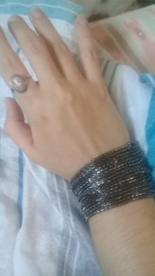Pulseira Bracelete Feminino Niquelado