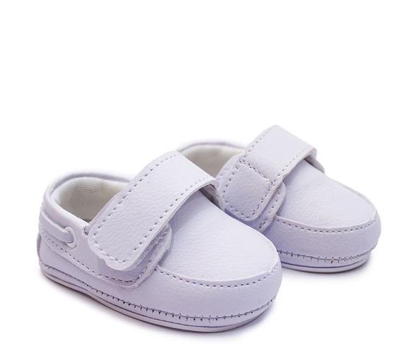 Sapato Mocassim Bebe C/velcro Em 12x S/juros Pronta Entrega