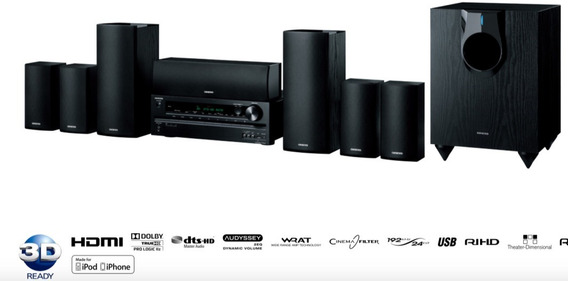 Home Theater Receiver Onkyo 7.1 Ht-591 ( 7 Cx + 1 Sub )