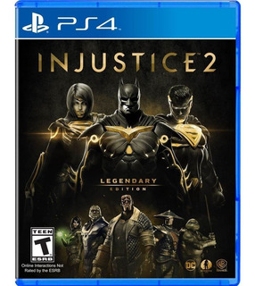 Injustice 2 Legendary Edition Ps4 Nuevo Original Domicilio