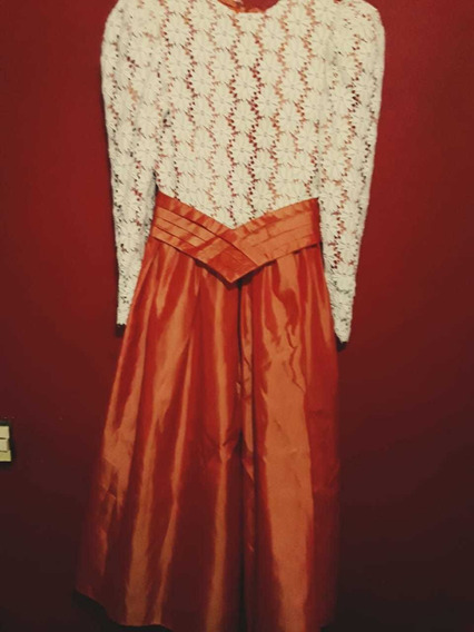 Vestido Antiguo. Talle S