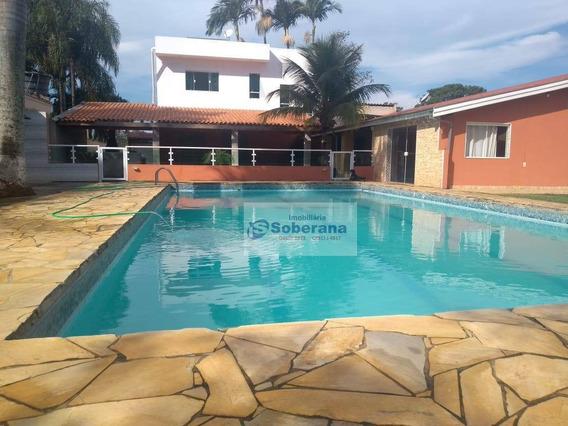 Chácara Com 3 Dormitórios À Venda, 2100 M² Por R$ 980.000,00 - Tanque Furado - Cosmópolis/sp - Ch0065