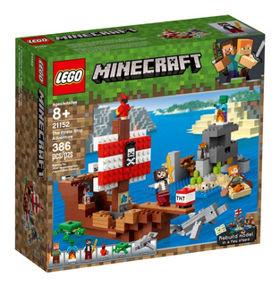 Lego Minecraft - 21152 - The Pirate Ship Adventure - 386 Pcs
